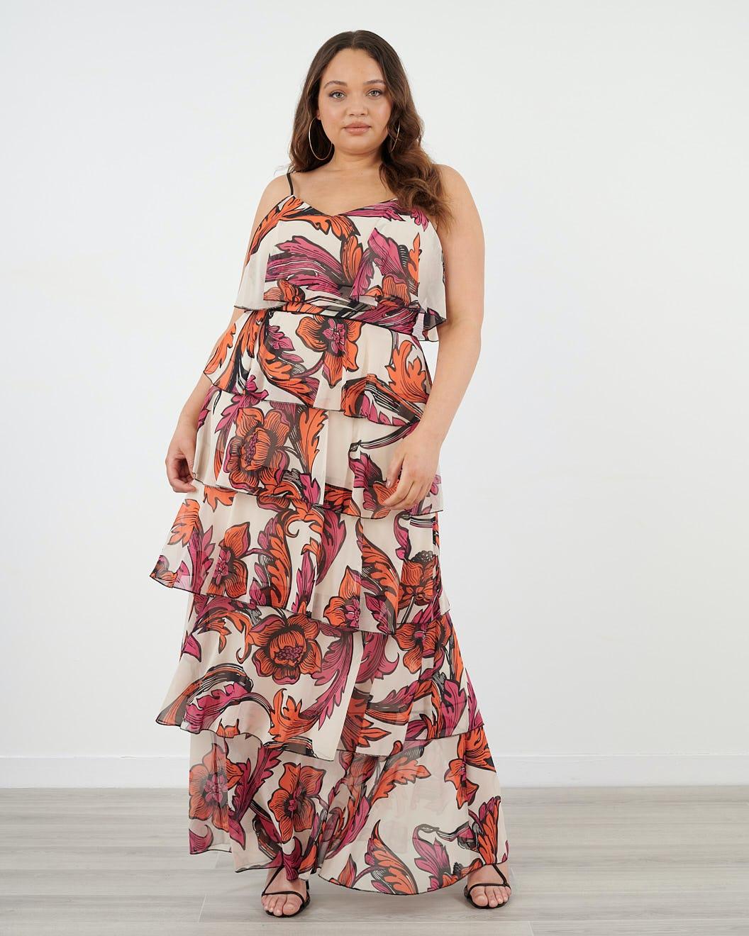 Details about  /EUC Naniloa Hawaiian pink floral dress 12m